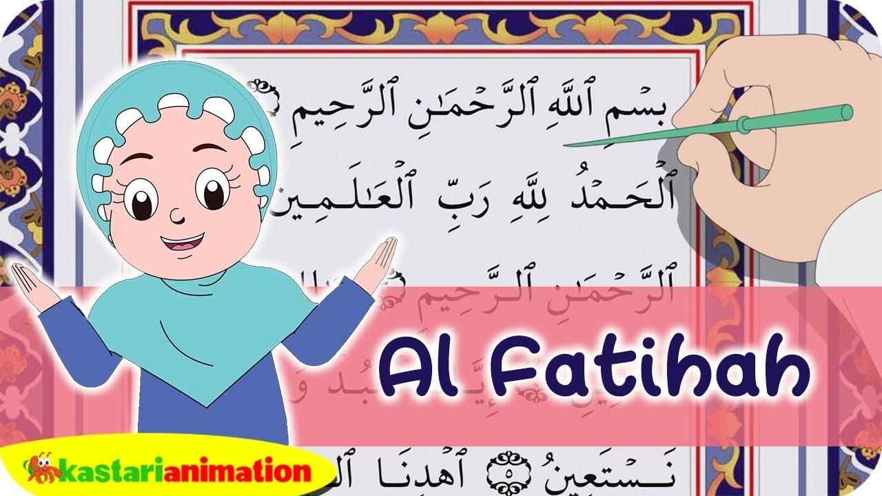 Al Fatihah Dan Terjemahan Juz Amma Diva Kastari Animation Official