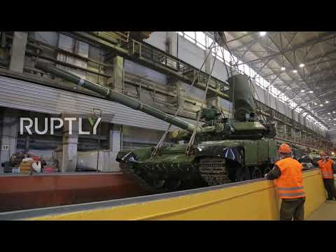 Russia: T-90 tank passes leakage test with flying colours