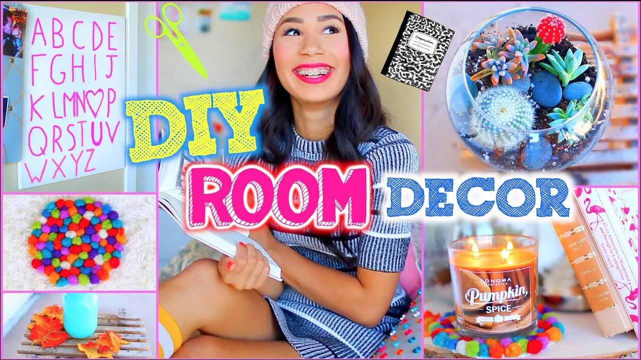 diy room decorations for cheap! + make your room look like