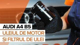 Tutoriale video și manuale de reparații pentru AUDI A4 - păstrați-vă automobilul într-o stare excelentă