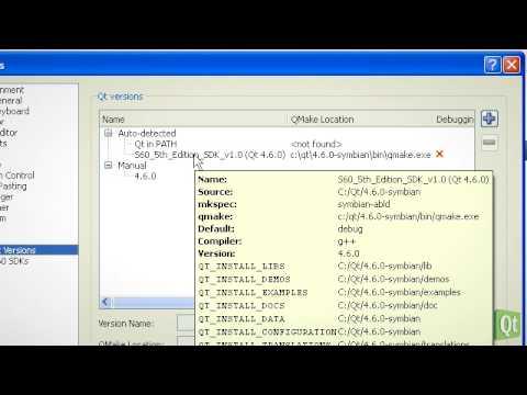 Qt for Symbian - Setting up Qt for Symbian