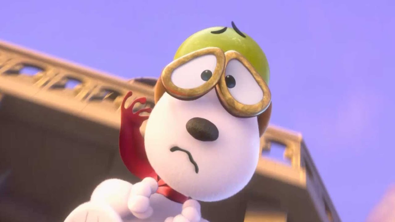 Snoopy And Charlie Brown The Peanuts Movie Official