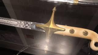 Sword of US Marine William F  Lee