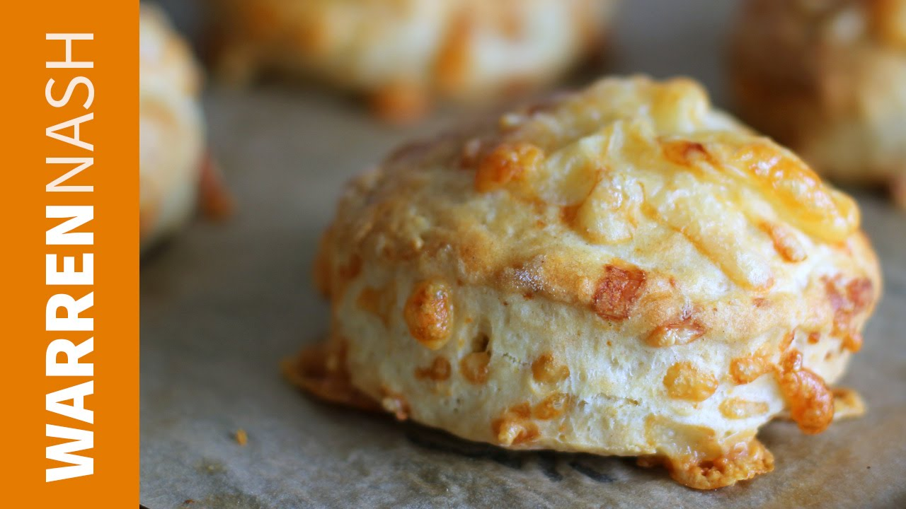 Cheese Scones Recipe Easy Baking At Home Recipes By Warren Nash Youtube