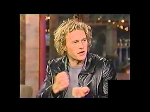 Heath Ledger on David Letterman