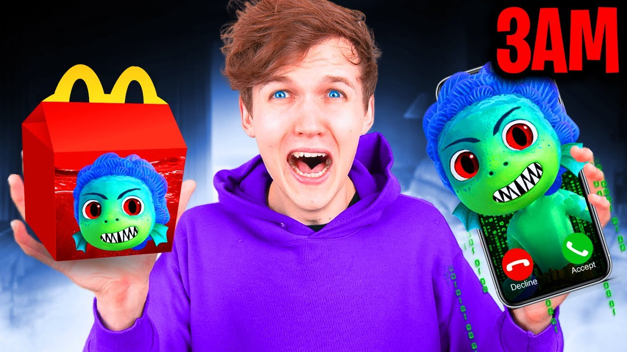 Download DO NOT ORDER LUCA HAPPY MEAL FROM MCDONALDS AT 3AM!? (EVIL LUCA ATTACKED US)