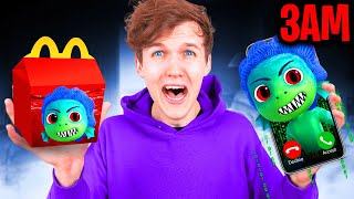 DO NOT ORDER LUCA HAPPY MEAL FROM MCDONALDS AT 3AM!? (EVIL LUCA ATTACKED US)