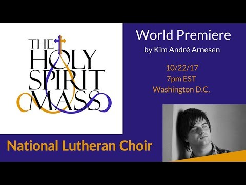 Holy Spirit Mass Live Stream from Washington D.C. | National Lutheran Choir