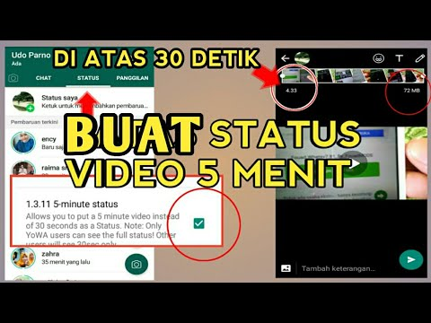 Cara Membuat Status Whatsapp Video Lebih 30 Detik Tanpa Aplikasi