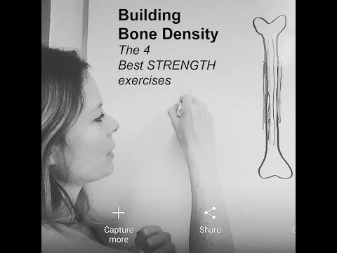 Building Bone Density - The 4 best strength exercises