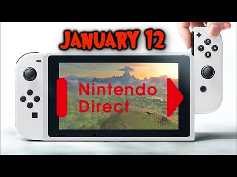 Nintendo Switch Direct Coming January 12 Price, Launch Games & Release Date