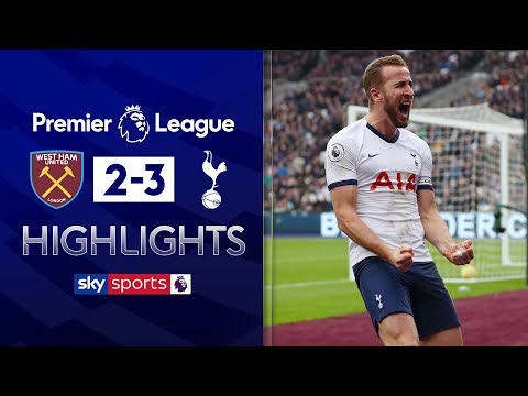 Jose Mourinho wins his first game in charge | West Ham 2-3 Tottenham | Premier League Highlights