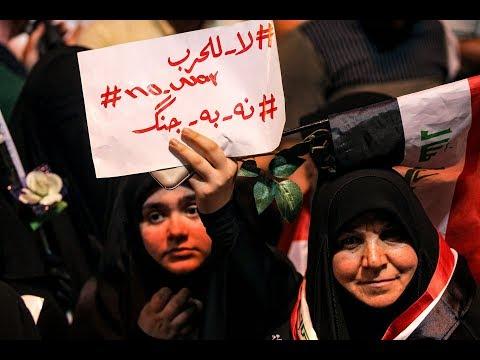 ماذا يريد العراقيون من أميركا وإيران ؟  - نشر قبل 2 ساعة