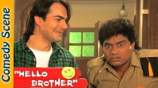 Johnny lever Comedy - Hello Brother Movie - Salman Khan - Rani Mukerji-  Shemaroo Bollywood Comedy
