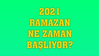 2021 Ramazan Ayı Ne Zaman Başlıyor? Ramazan Bayramı tatili kaç gün olacak?