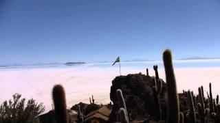 Salar de Uyuni Bolivie Altiplano 2011  vidéo traversée en 4x4
