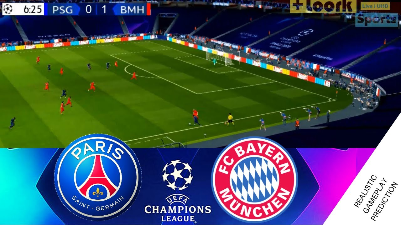 Psg Vs Bayern Munich Champions League Final 2020 Full Match August 23 2020 Youtube