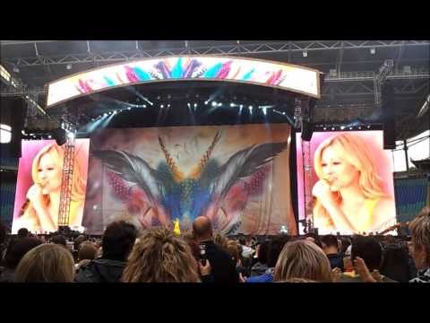 Helene Fischer Unser Tag Opening 27.06.2015 Red Bull Arena Leipzig