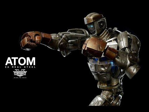 Real steel(Atom vs Zeus)игра Живая сталь-Атом против Зевса