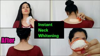 HOW TO WHITEN NECK AT HOME WITH 1 INGREDIENT | GET CLEAR SKIN
