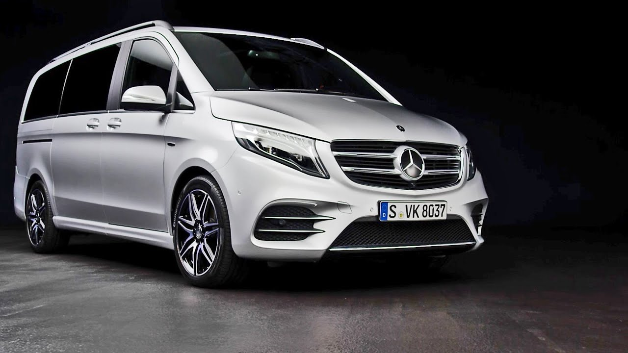 Mercedes V Class Amg Line 2016 Interior And Exterior Design Youtube