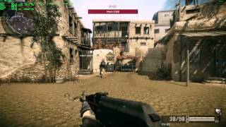 Warface Coop Mission Gameplay PC - Destroying a Mech 2300 - Max Quality Full HD 1080p60 - OSD/FPS