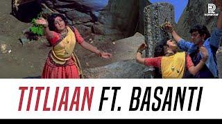Yaar Mera Titliaan Warga ft Basanti | VJ Prakhar | Hema Malini | Dharmendra | Afsana Khan