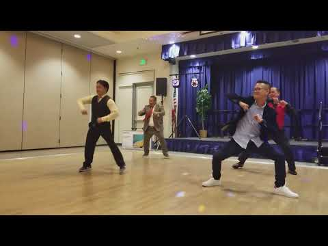 Despacito a dance number @ NVPAC Christmas party 2017