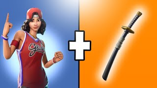 5 COMBOS/COMBINATIONS OF SKINS AND BACKPACKS-FORTNITE