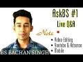 AskBS 1 • Live Q A