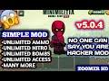 DA2 Mini Militia v5.0.4 Simple Mod Apk Download | Unlimited Ammo, Unlimited Nitro, Unlimited Bombs,