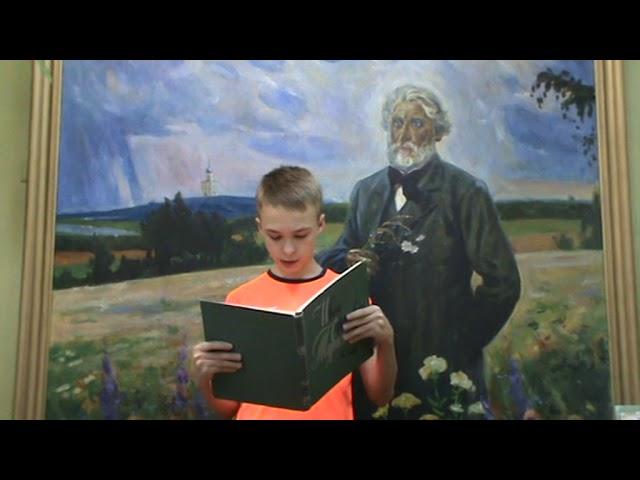 Изображение предпросмотра прочтения – ВадимШарин читает произведение «Стихотворения в прозе. Воробей.» И.С.Тургенева