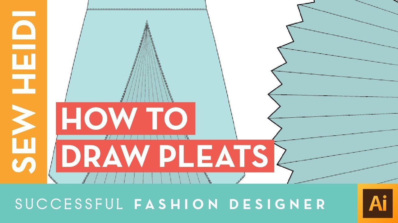 How To Draw Pleats In Illustrator