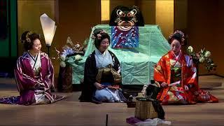 "from ""Tenshu Monogatari"" Reception for Princess:愛歌会公演『天守物語』富姫帰還と亀姫の宴"