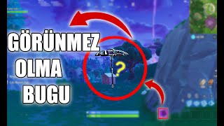 BEING INVISIBLE IN FORTNITE!!!   fortnite bugs