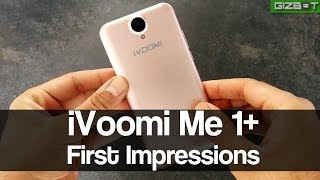ivoomi me 1 first impressions gizbot