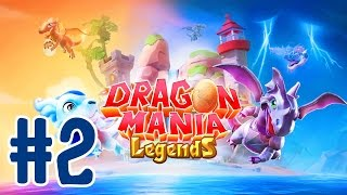 Dragon Mania Legends #2 - DOUBLE BOSS BATTLE!! | iPad Gameplay