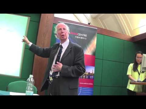 Family and State in Britain and China - 2, Alan Macfarlane 2016