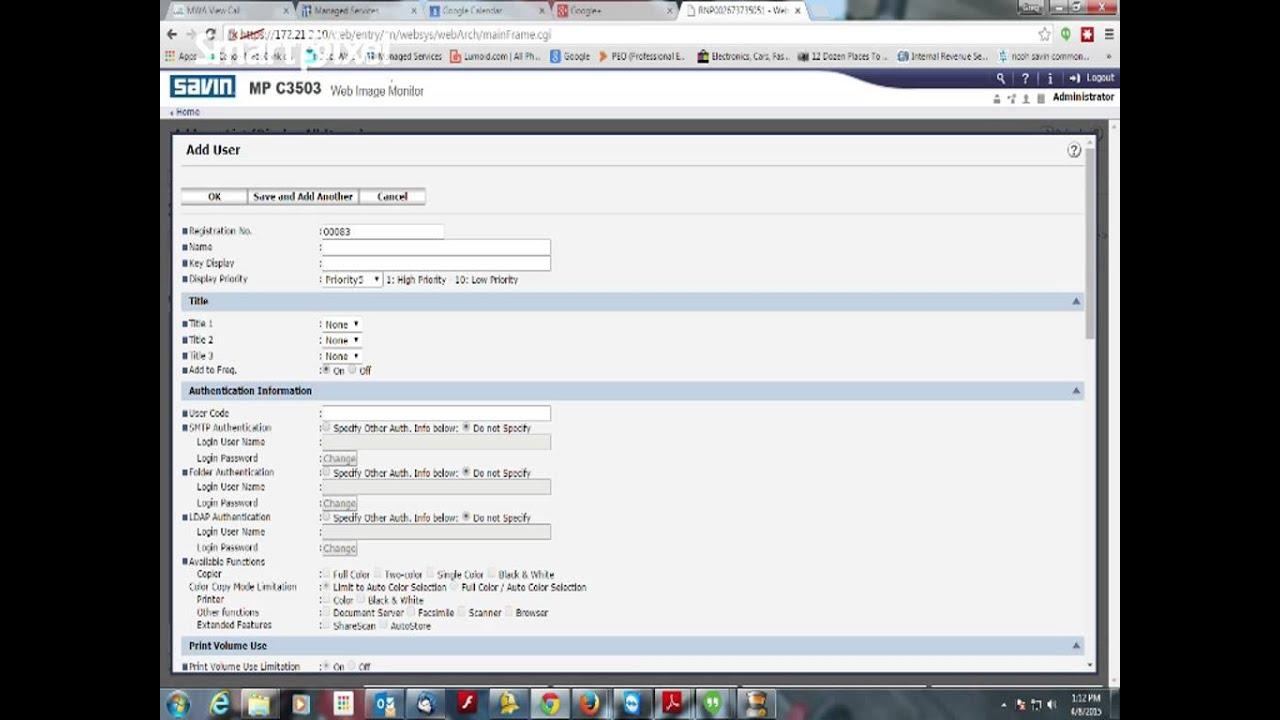 Ricoh Scan To Folder