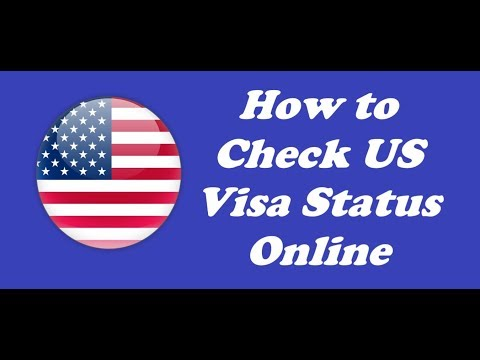 How to Check USA Visa Application Status Online |Check Visa Status Online