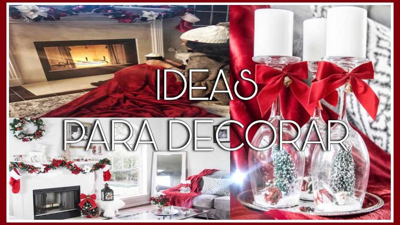 Decorar La Casa En Navidad Con Poco Dinero.Ideas Para Decorar Tu Casa En Navidad Con Poco Dinero Dollar Tree Jeka Channel