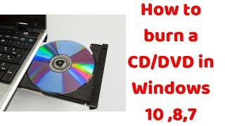 How to burn a CD/DVD in Windows 10 ,8,7 | Wondershare DVD Creator | mp4 to dvd converter|Hindi
