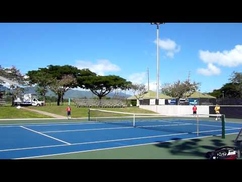Ryan Sweeting vs Ryan Harrison  Quarterfinal Honolulu Challenger 2011 HD Part 1