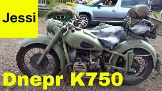 Dnepr Ural K750 Russian Motorcycle