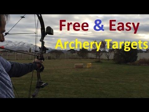 4ce8084791 Make FREE Archery Targets! - YouTube