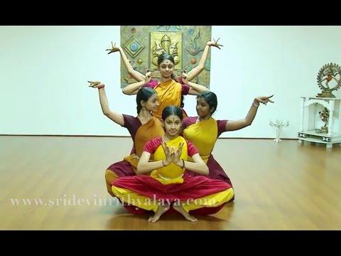 Ashta Lakshmi Stotram  - Sridevi Nrithyalaya - Bharathanatyam Dance