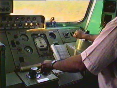 Año 1997: Viaje Talca-Santiago en cabina de AEZ-41 (Con falla por enredo de pantógrafo)