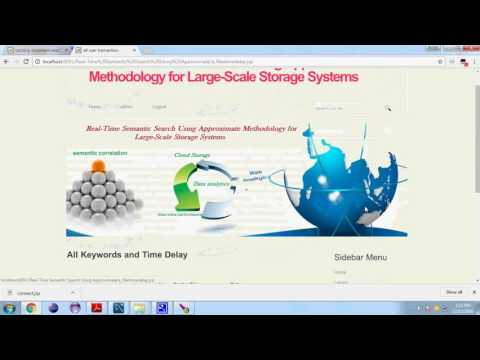 Real Time Semantic Search Using Approximate Methodology for Large Scale Storage Systems