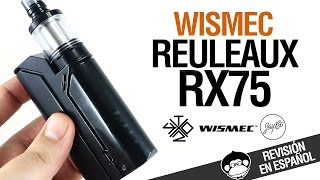 reuleaux rx75 by wismec jaybo inspirado por vaping with twisted 420 revision