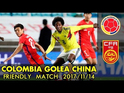 Download Colombia vs China 4-0 | 14/11/2017 friendly match